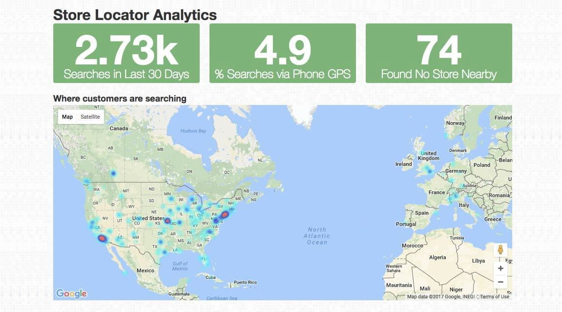 Update: Powerful Store Locator Analytics