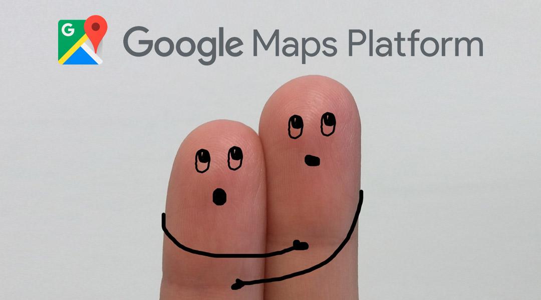 Google Maps Platform changes
