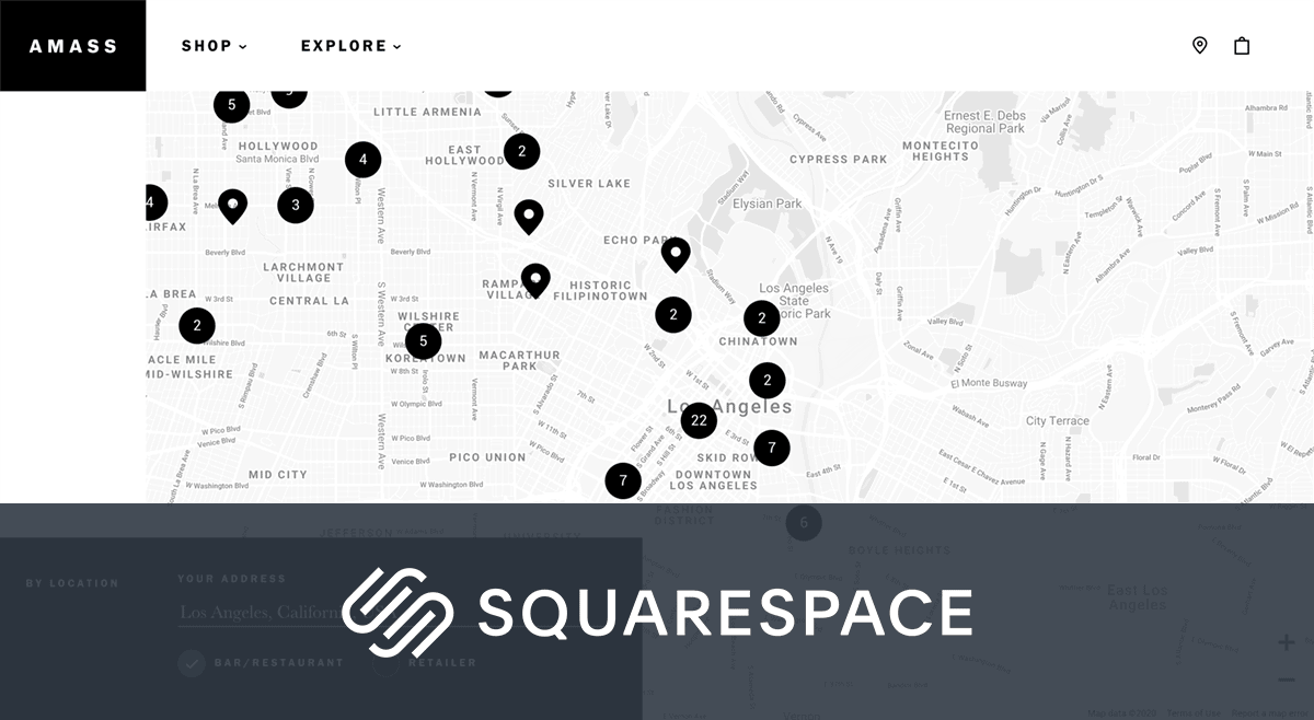 Squarespace Store Locator by Storemapper