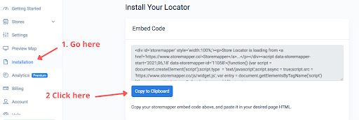 Add Google Map Embed Code to WordPress with Storemapper